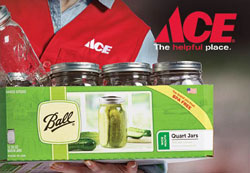 Ace is the place for canning